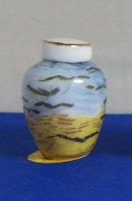 Miniatuur ronde vaas - 01 - Miniature round Vase, high