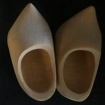 Klompen - blank hout - Wooden shoes - light wood