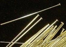 Kettelstift met kop - 32 mm -  Head pin