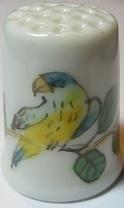 Vingerhoed - 015 - vogel - Thimble - bird