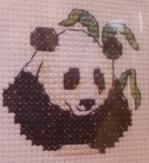 Panda bear  aida