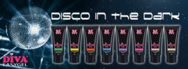Diva easygel disco in the Dark - complete set