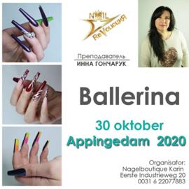Nail revolution 18 febr 2021 Ballerina
