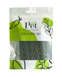 VeggiePet Green Tea Dental Twist (100 gram)