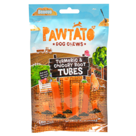 Benevo Pawtato Tubes with Tumeric & Chicory