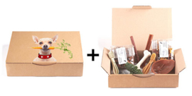 Startpakket met proefzakjes kleine hond + snackpakket Fikkie (kleine hond)