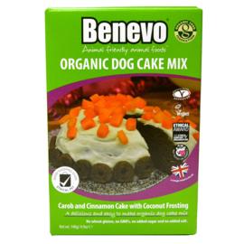 Benevo organic birthday cake mix