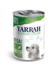 Yarrah biologisch tarwevrij met cranberries (380gr)