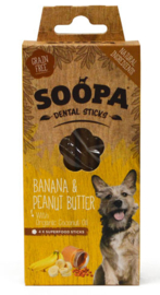 Soopa Dental Sticks - Banana and Peanut Butter