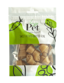 VeggiePet Sweet Potato Knotted Bones (100 gram)