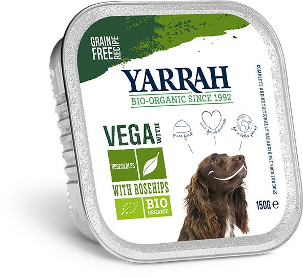 Yarrah kuipjes biologisch met rozenbottels (150gr)
