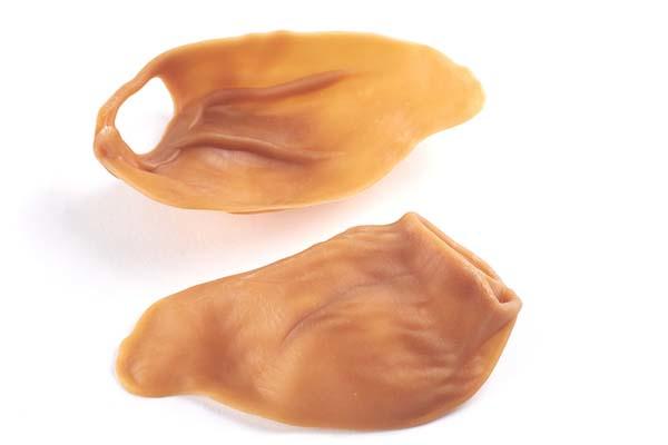 Whimzees vega 'varkensoor' large (glutenvrij)