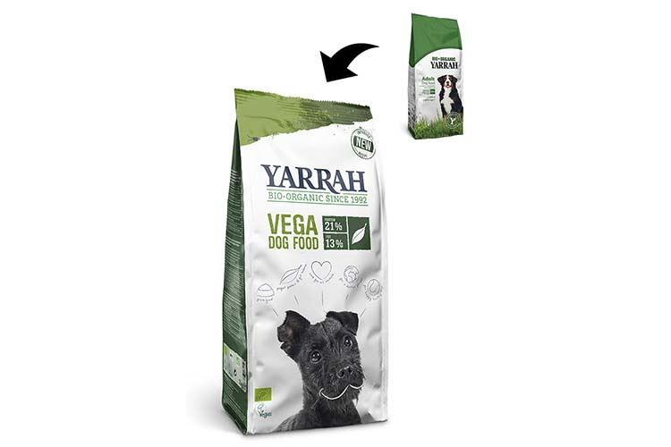 Proefzakje Yarrah bio vega met baobab en kokosolie (250gr)