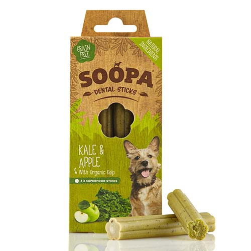 Soopa Dental Sticks - Boerenkool en Appel
