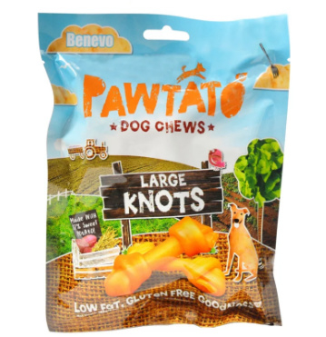 Benevo pawtato knots - large