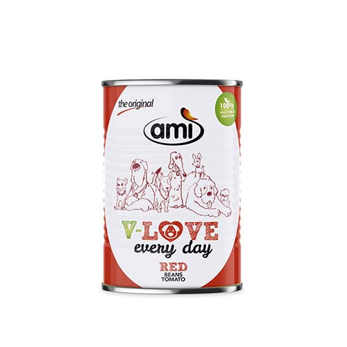 Ami natvoer - Rood (400gr)