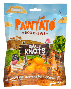 Benevo pawtato knots - small