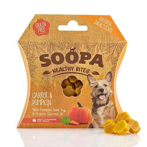 Soopa Healthy Bites - Wortel en Pompoen