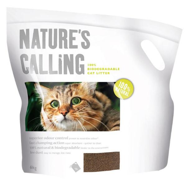 Nature's Calling kattenbakvulling (2,7kg of 6kg)