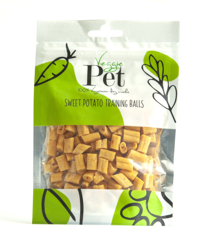 VeggiePet Sweet Potato Training Balls (100 gram)
