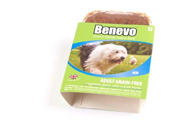 Benevo hond graan- en sojavrij (395gr)