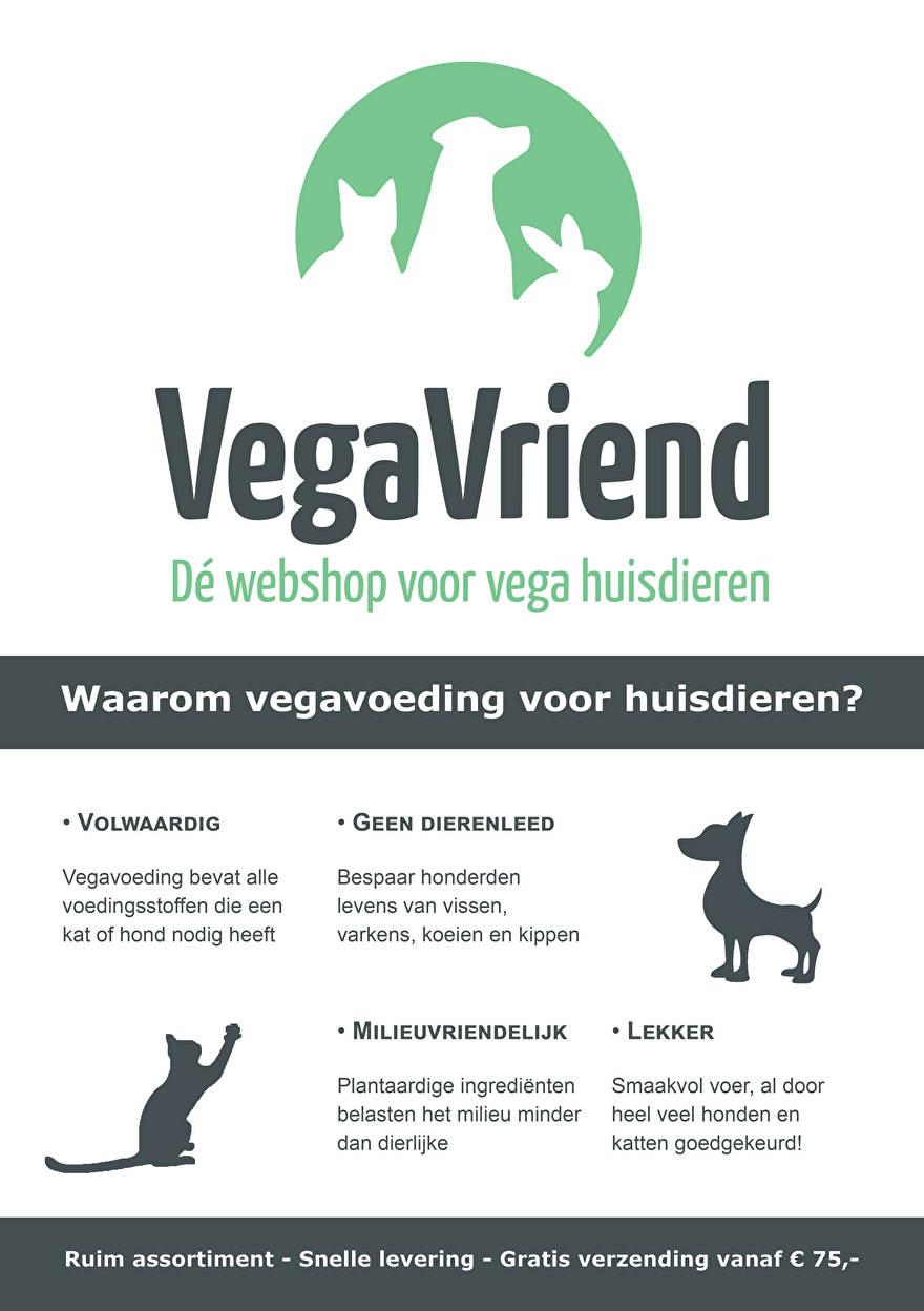 VegaVriend flyer - voorkant