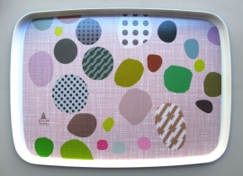 serving tray . bits & bobs . pink