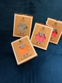 Mc Nutt Sjaal voor kinderen 100% merino wol (oranje)