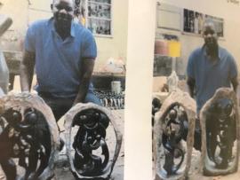 Familie van 4 van John Chipiri (Zimbabwe)