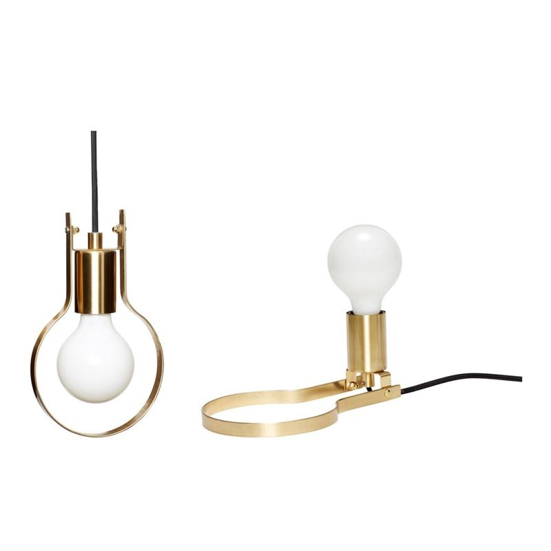 Hubsch tafellamp/hanglamp 2-in-1