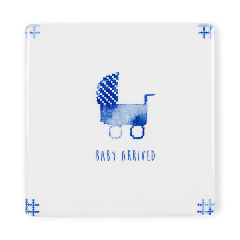 Storytiles Tegelkaart Baby Arrived