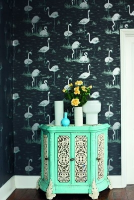 contemporary restyled flamingo's