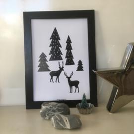 Forrest Scene | A4 poster print