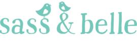 PORTEMONNEE | BLAUW PRINT QUOTE | L13.5 x d1 x H8.9 cm | VINTAGE ATLAS | SASS & BELLE