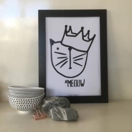 Meouw Boy | A4 poster print
