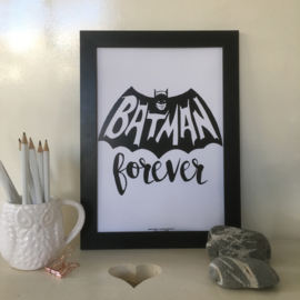 Batman Forever | A4 poster print
