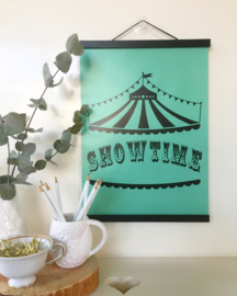 Showtime [circustent] | A3 poster print