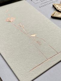 Postkaart House | Wonderland kunstkaart | Räder | art. 62796