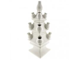 Tulpenvaas Wit 3-delig XXL (40 cm) | Heinen Delfts Blauw