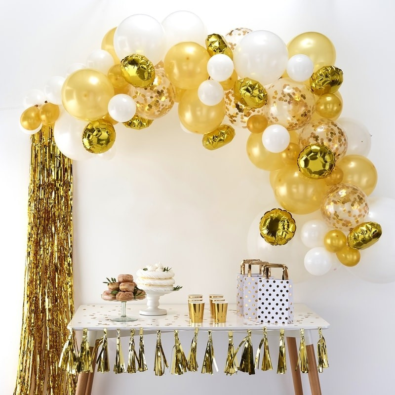 BALLONNEN BOOG | GOUD | BALLOON ARCHES | GINGER RAY