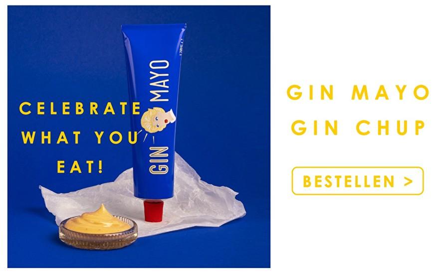 Gin Mayo & Gin Chup | Celebrate what you eat