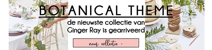 De nieuwe collectie van Ginger Ray is gearriveerd; Botanical Wedding