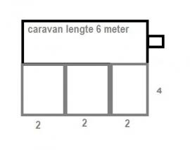 Voortentvloer 4 x 6 meter
