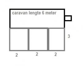 Voortentvloer 3 x 6