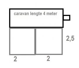 Voortentvloer 2,5 x 4