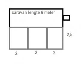 Voortentvloer 2,5 x 6