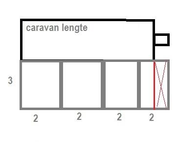 Voortentvloer 3 x 7