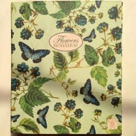 Multomap met bessen en vlinders design (A4) *** Uitverkocht ***