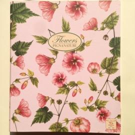 Multomap met bloemen design (A4) *** Uitverkocht ***