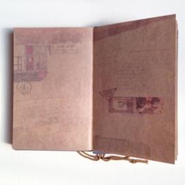Vintage Notebook `Travel` met prachtige bladzijden